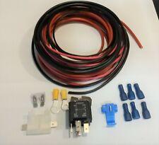 Leisure Battery Split Charge Relay Kit for Motorhome,Camper, VW T4, Transit Etc