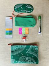 Emirates Airline Amenity Travel Kit Bag Expo 2020 Dubai Limited Edition-Green
