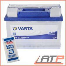 VARTA BLUE DYNAMIC 74Ah 12V AUTO-BATTERIE STARTERBATTERIE+10g POL-FETT 31574588