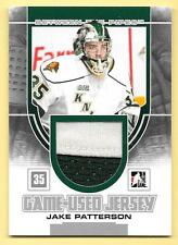 13/14 Between The Pipes Silver #14 Jake Patterson 2 Color Jersey Card SP/180