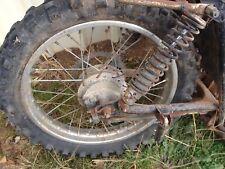 Honda SL125 SL 125  Rear Wheel Rim  Assembly Wheel Tyre Brake Axle