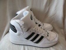 Adidas white leather casual hi top Trainers size 9