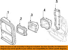 GM OEM Headlight Head Light Lamp-Sealed Beam Support Right 15667848