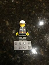 Accessories NEW LOT OF 4 3624 LEGO Black Police FIREMAN HAT CITY