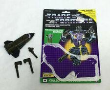 1986 G1 Transformers Combaticons Bruticus Blast Off Figure Complete Cardback