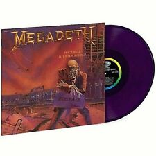 Megadeth Peace Sells...But Who's Buying Translucent Purple Vinyl LP limited 180g