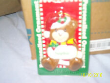 """Great Christmas Gift! 1998 Stravina Plastic """"Sophie"""" Personal Bear Ornament"""