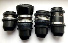 Carl Zeiss Set 35+50+80+135mm Lenses Arri PL Mount Arriflex Ursa Red One 35mm