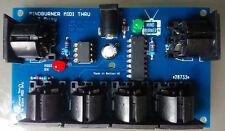 MINDBURNER 5 way MIDI Thru Splitter unit for synthesizers and modules