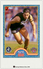 1996 Tip Top Hyfibe AFL Heroes Card #29 Stephen Silvagni (Carlton)