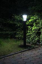 Arnusa Power Solarlampe Gartenleuchte Gartenlampe Laterne 120 cm Außenleuchte