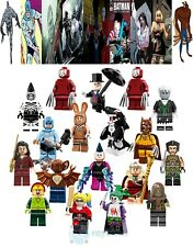18PCS Rare Villain Enemy Of Batman Mini Figure Building Blocks DIY Toys