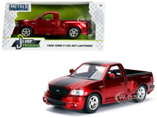 1999 FORD F-150 SVT LIGHTNING PICKUP TRUCK CANDY RED 1/24 DIECAST BY JADA 30357
