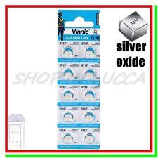 10 Batterie Pile VINNIC 371 SR69W V371 SR920SW SR921 605 280-31 SB-AN G6 RW415