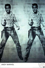 #677 Andy Warhol Elvis Poster 24X36