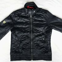 Ferrari x Puma Quilted Jacket | Size 8/10 | Black | Limited Edition | Rare