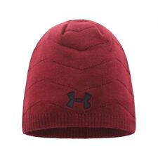 Men's Women's Under Armour Hat 2Colors Beanie Opposite Side Embroidered UA Warm