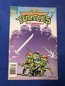 Teenage Mutant Ninja Turtles Adventures #71 HTF Newsstand Archie Comics 1995