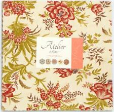 "Moda Layer Cake~ Atelier ~ 3 Sisters ~10"" x 10"" Square ~ 100% Cotton"
