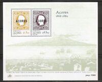 Portugal Azores SC # 315a- Azores # 2, Azores # 6-  Souvenir Sheet. MNH