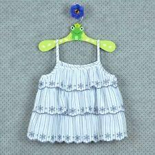Kssv Enfants Filles Plain stretch à bretelles Petit Swing Débardeur Caraco Tank T-shirt Top