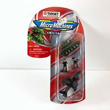 MICRO MACHINES EXTREMELY RARE TARGET EXCLUSIVE CANDY CANE MILITARY