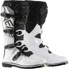 O'Neal Racing Element Boots - White/Black, All Sizes