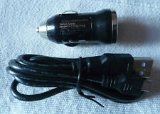 KIT -  Single USB In-Car Charger 1A. USBGPC1AM + 1.2m Micro USB Cable