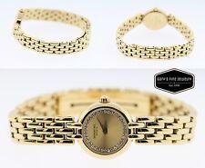 Raymond Weil 18K Gold Electroplated 10M Diamond Women's Vintage Watch 5806-2