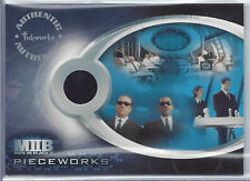2002 Inkworks The Men In Black II Pieceworks Card PW1 MIB Agents Suit SP Rare 2