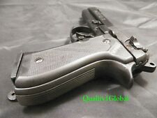 RUBBERIZED GRIPS BERETTA 92 ITALY MOVIE PROP Pistol Replica Hand Gun Training