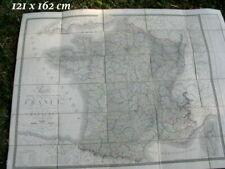 Rare - Carte France de la France du Royaume du Roi 1843 J. Andriveau-Goujon