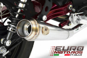 Moto Guzzi V7 II Racer 2015-2017 Zard Exhaust Dual Slipon Silencers Racing New