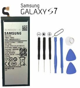 New Replacement Battery For Samsung Galaxy S7 SM-G930 EB-BG930ABE  + Free Tools