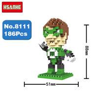 Bausteine Superheld Cartoon Character Modell bausätze Spielzeug Kinder Geschenk
