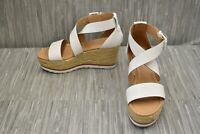 Marc Fisher Zaide Wedge Sandal - Women's Size 5.5M, White