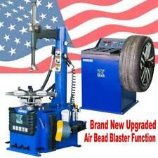 Auto15 Hp Tire Changer Wheel Changers Machine Balancer Rim Clamp Combo 950 680