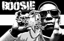 "Lil Boosie ""Black Light"" Poster"