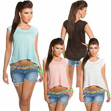 Hüftlange Damenblusen, - Shirts für die Freizeit