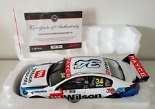 1:18 Biante James Moffat 2017 Wilson Security GRM Holden VF Commodore #34