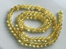 Natural Vintage Amber Beads Antique Baltic Old Necklace 12,51 gr.