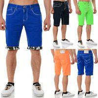 Capri Authentic Style Herren Bermuda Shorts Kurze Hose Jeans Vintage Chino Cargo