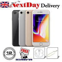 Apple iPhone 8 64GB 256GB Space Grey Silver Gold Unlocked SIM Free Smartphone