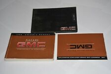 1998 GMC SAFARI OWNERS MANUAL GUIDE BOOK SET OEM