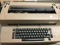 IBM Correcting Selectric II Typewriter For Parts Not Working