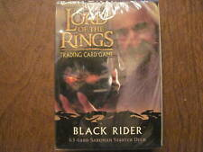 Lord of the Rings Tcg Saruman Black Rider deck New Lotr Decipher 2005