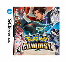 Pokemon Conquest (Nintendo DS, 2012) AUTHENTIC CARD