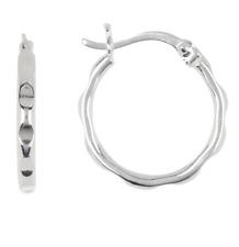 ARGENTO Vivo 18k Gold Plated Sterling Silver Endless Hoop Earrings