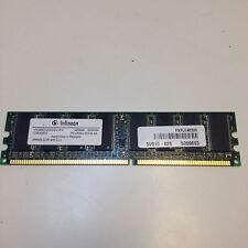 Infineon 512MB 2x256MB 240 PIN DDR2 PC2-3200U HYS64T32000HU-5-A Non ECC Memory