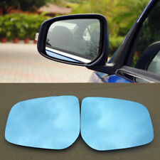 Power Heated w/Turn Signal Side View Mirror Blue Glasses For Mitsubishi Lancer